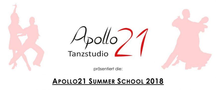 APOLLO21 SUMMER SCHOOL 2018