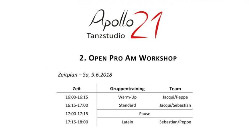 2. Apollo21 Open ProAm Workshop