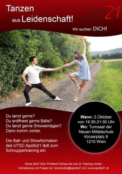 Schnuppertraining: Ball- und Showformation