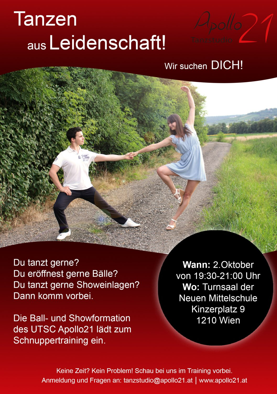 Schnuppertraining: Ball- und Showformation