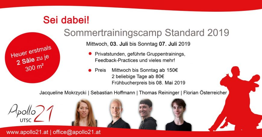 Sommercamp Standard – Frühbucherbonus nur noch bis 8. Mai !!!