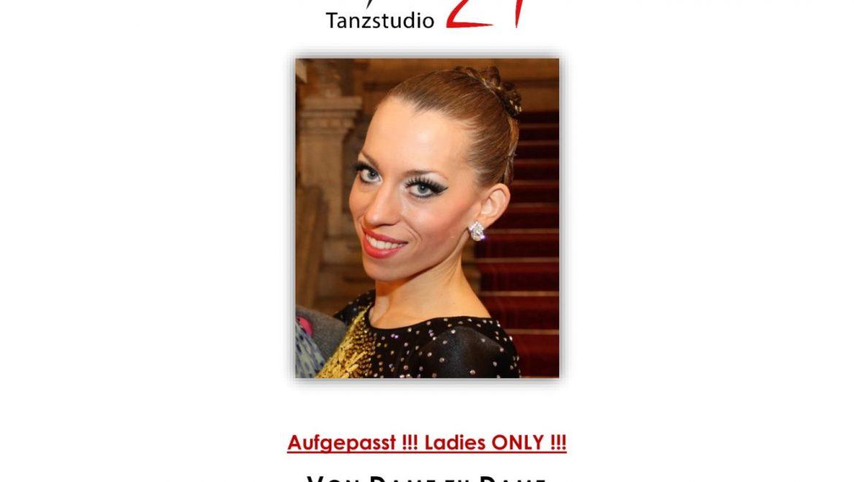 1. Lady Ballroom Workshop am 30. März im Tanzstudio Apollo21