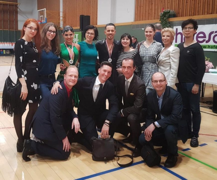 Eva und Peppe ertanzen Vizestaatsmeistertitel – 30. März 2019