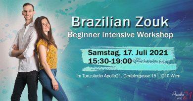 Apollo21 Summer Special – Brazilian Zouk Workshop